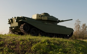 Picture army, slide, tank, armor