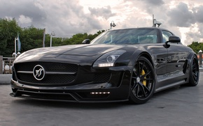 Picture Hamann, AMG, Widebody, on HRE S104, SLS