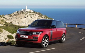 Picture Land Rover, car, auto, SVAutobiography, road, road, Range Rover