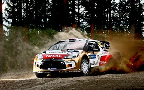Picture rally, wrc, citroen, 2013, ds3