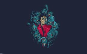 Picture figure, Michael, Michael, Jackson, Jackson