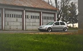 Picture grey, volkswagen, Golf, golf, Volkswagen, MK4