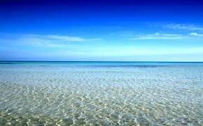 Wallpaper sea, glare, water