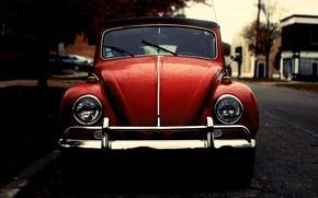 Picture beetle, Volkswagen, beetle, old