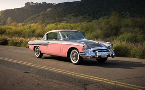 Picture classic, 1955, Studebaker, Speedster, President State, Studebaker