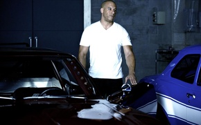 Wallpaper Vin Diesel, The Fast and the Furious 6, Fast and furious 6, Dominic Toretto, VIN ...