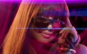 Picture purple, look, glasses, clip, Priyanka Chopra, In My City, Priyanka Chopra