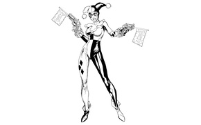 Picture Girl, Art, Harley Quinn, DC Comics, Harley Quinn