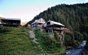 Picture georgia, caucasus, tusheti