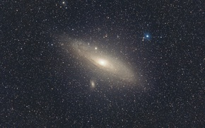 Picture space, constellation, Andromeda