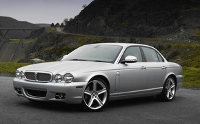 Picture Jaguar, silver, '2007–09