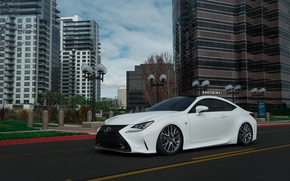 Picture Lexus, for, F-Sport, RC350, Accuair, The dealership, Boden, e-Level