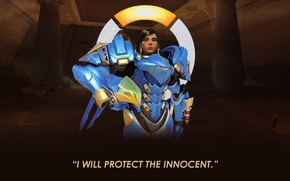 Picture girl, Overwatch, pharah