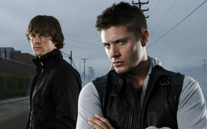 Wallpaper Dean, Supernatural, The winchesters, Sam