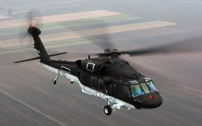 Wallpaper flight, helicopter, S-70i, BLACK HAWK
