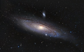 Picture light, cosmos, andromeda galaxy