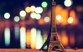 Picture Eiffel tower, Paris, paris, bokeh