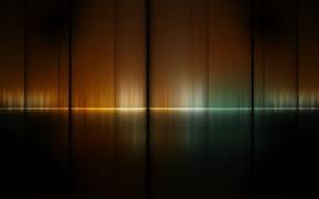 Picture color, reflection, strip