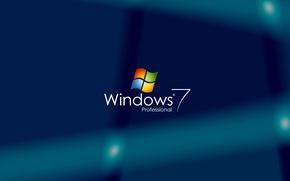 Picture computer, Wallpaper, logo, windows 7, emblem, operating system