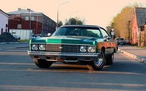 Picture Home, Road, The city, Chevrolet, Impala 1973