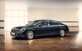 Picture Mercedes-Benz, Maybach, Mercedes, Maybach, X222, S-class, 2015