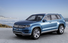 Picture sea, the sky, Volkswagen, Crossblue Concept
