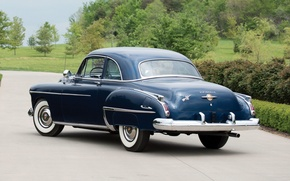 Picture rear view, Coupe, 1950, Oldsmobile, The Oldsmobile, Futuramic, 88 Club