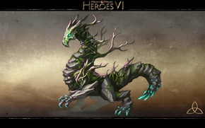 Picture Dragon, Earth, Heroes of might and Magic 6, Might & Magic Heroes VI, Sylanna, Sienna