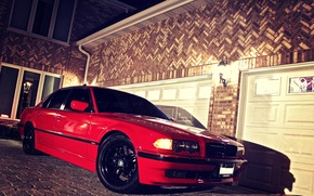 Picture Red, BMW, Red, Bimmer, E38, Boomer, 750il, BMW