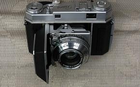 Wallpaper the camera, film, rangefinder, Kodak, Kodak Retina IIa