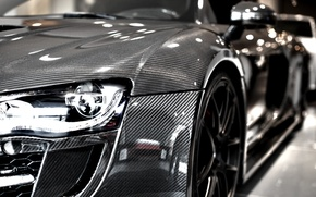 Picture audi, silver, carbon, limited edition