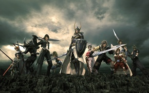 Wallpaper weapons, final fantasy, cloud strife, final fantasy