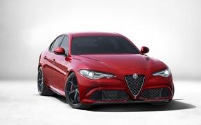 Picture Alfa Romeo, 2016, 952, Four-leaf clover, Alfa Romeo, Giulia