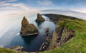 Picture sea, ocean, cliff