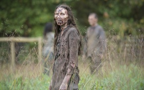 Wallpaper dirt, zombie, woman, dead, the walking dead, rotted