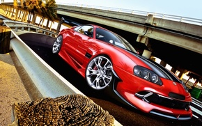 Picture figure, Toyota, Supra, Toyota, supra