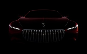 Wallpaper Mercedes, wallpaper, automobiles, beauty, beauty on wheels, Maybach, bold lines, visual, futuristic look, high standard, ...