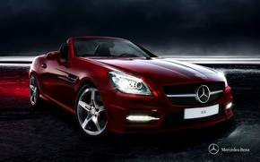 Picture Mercedes-Benz, convertible, Mercedes, 2011, SLK, R172