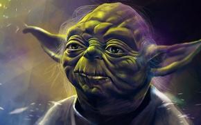 Picture Star Wars, art, yoda, jedi