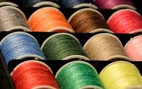 Picture paint, thread, coil