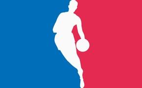 Picture logo, basketball, nba