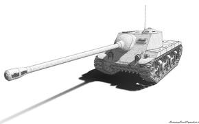 Picture tank, gun, wot, tank, Т25АТ, Т25_АТ, T25AT, T25 at, T25 AT, t25, T25_AT