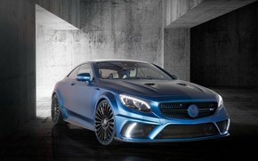 Picture Mercedes-Benz, Mercedes, AMG, Coupe, Mansory, AMG, S 63, 2015, C217, Diamond Edition
