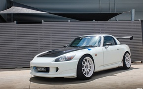 Picture white, white, wheels, honda, japan, Honda, jdm, tuning, front, face, s2000, vtec