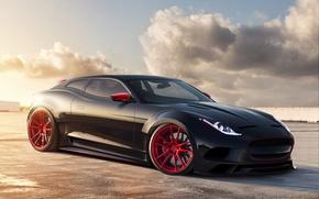 Picture tuning, concept, Jaguar, render, rechange, virtual tuning, Jaguar X-C16