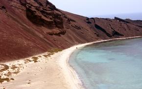 Picture sea, Mountains, Africa, Eritrea