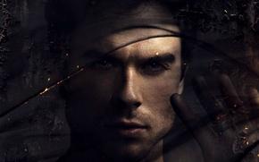 Picture ash, art, actor, fabric, The Vampire Diaries, The vampire diaries, Ian Somerhalder, Ian Somerhalder, Damon …