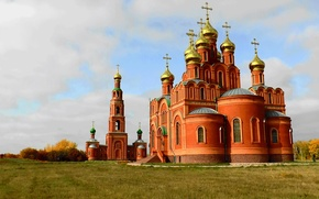Picture Church, Temple, OMSK, Siberia, The monastery, Achair monastery