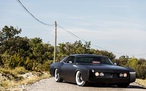 Picture black, Matt, Buick, 1966, Riviera, Riviera, Buick, hardtop, two-door