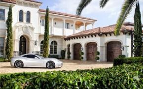 Picture Villa, ferrari, Ferrari, mansion, villa, Ferrari California